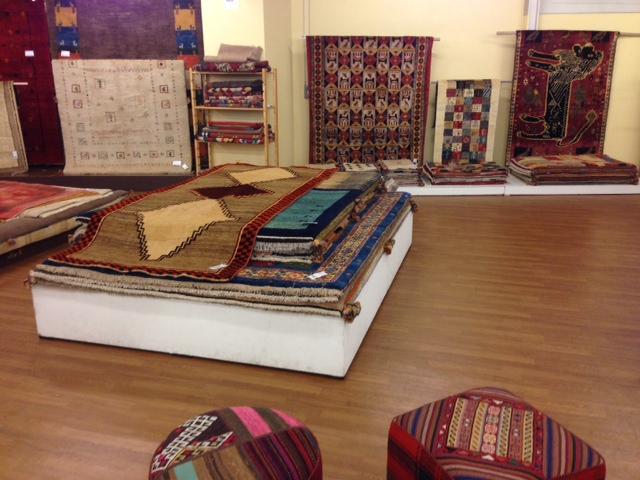 世界の手織り絨毯展in栗田家具センター静岡店